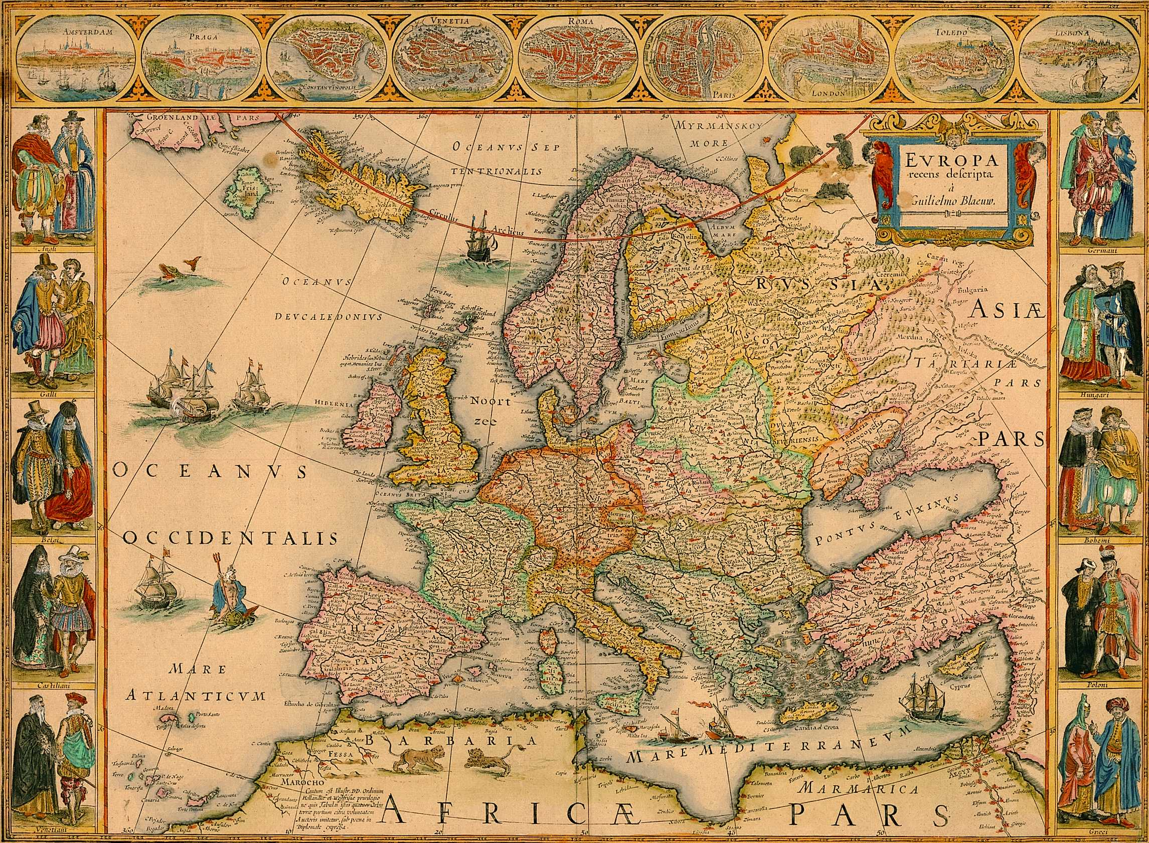 Ancient Europe Map